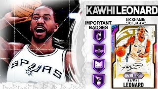 GALAXY OPAL KAWHI LEONARD GAMEPLAY! THERE IS NO FLAW TO THIS CARD! NBA 2k20 MyTEAM