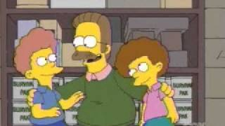 Ned Flanders Beatles collection