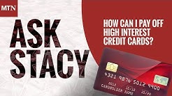 How Can I Pay Off High Interest Credit Cards?