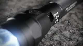 SureFire R1 Lawman flashlight demonstration with real police officers