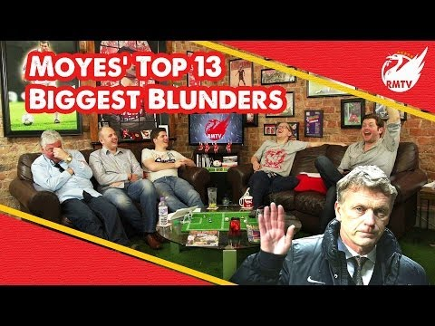 David Moyes' 13 Biggest United Blunders (Moyes Sacked as Man Utd Manager)