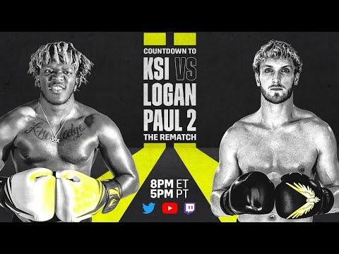 Countdown To KSI vs. Logan Paul 2