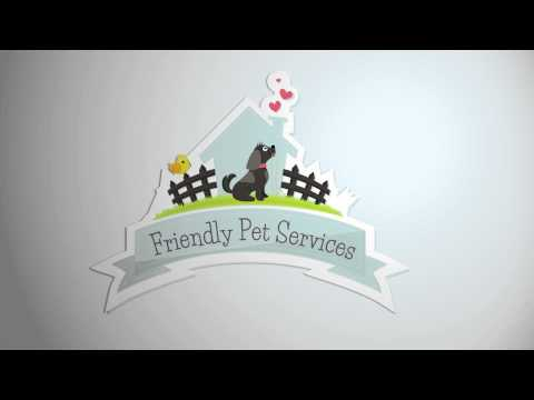 Friendly Pet Services Animated Logo Intro HD