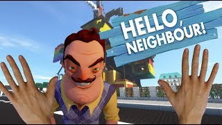 Realistic Minecraft - Inside the Hello Neighbor house