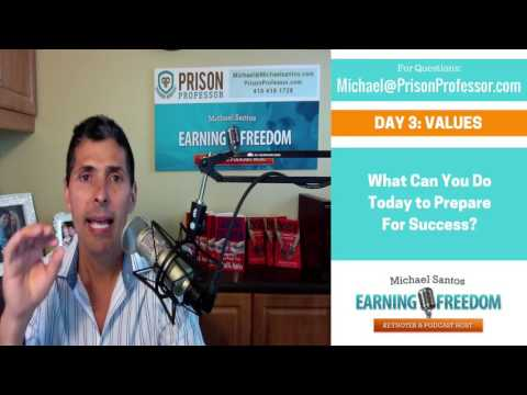 Bureau of Prisons Reentry Program: Values Sample Lesson