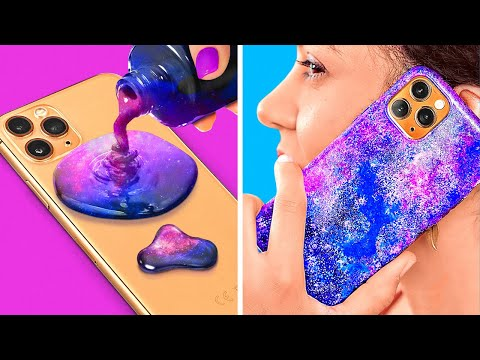 COOL DIY PHONE CRAFTS || Fun Crafting Hacks For Your Phone