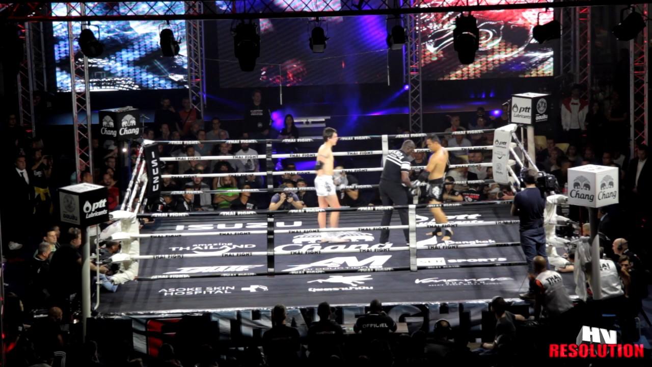 RAFAEL LLODRA vs SAIYOK PUMPANMUANG WINDY SPORT (THAI FIGHT PARIS 2017)(HD)
