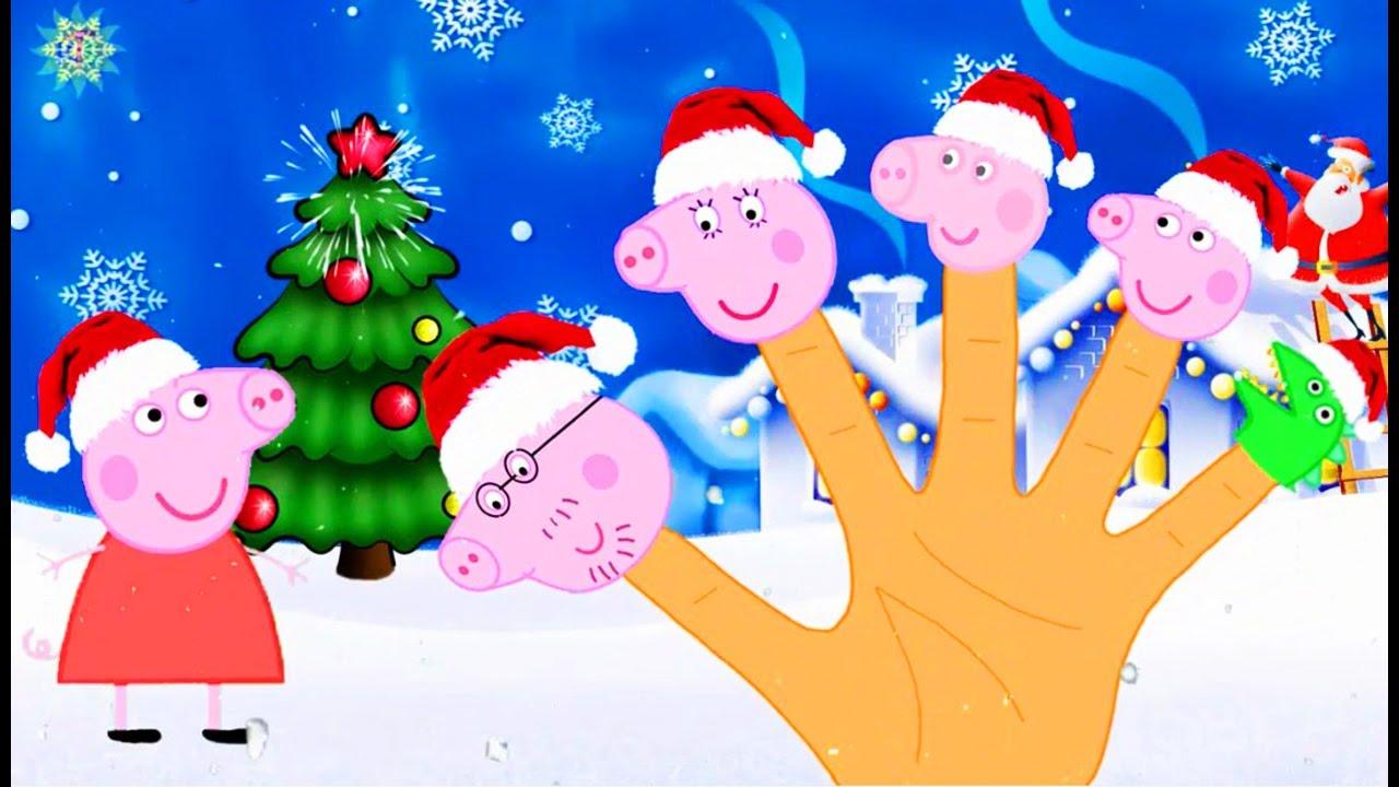 Свинка Пеппа новые серии Семья пальчиков Новый год на ...