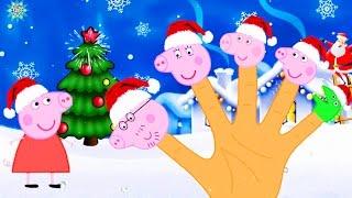 Свинка Пеппа новые серии Семья пальчиков Новый год на русском