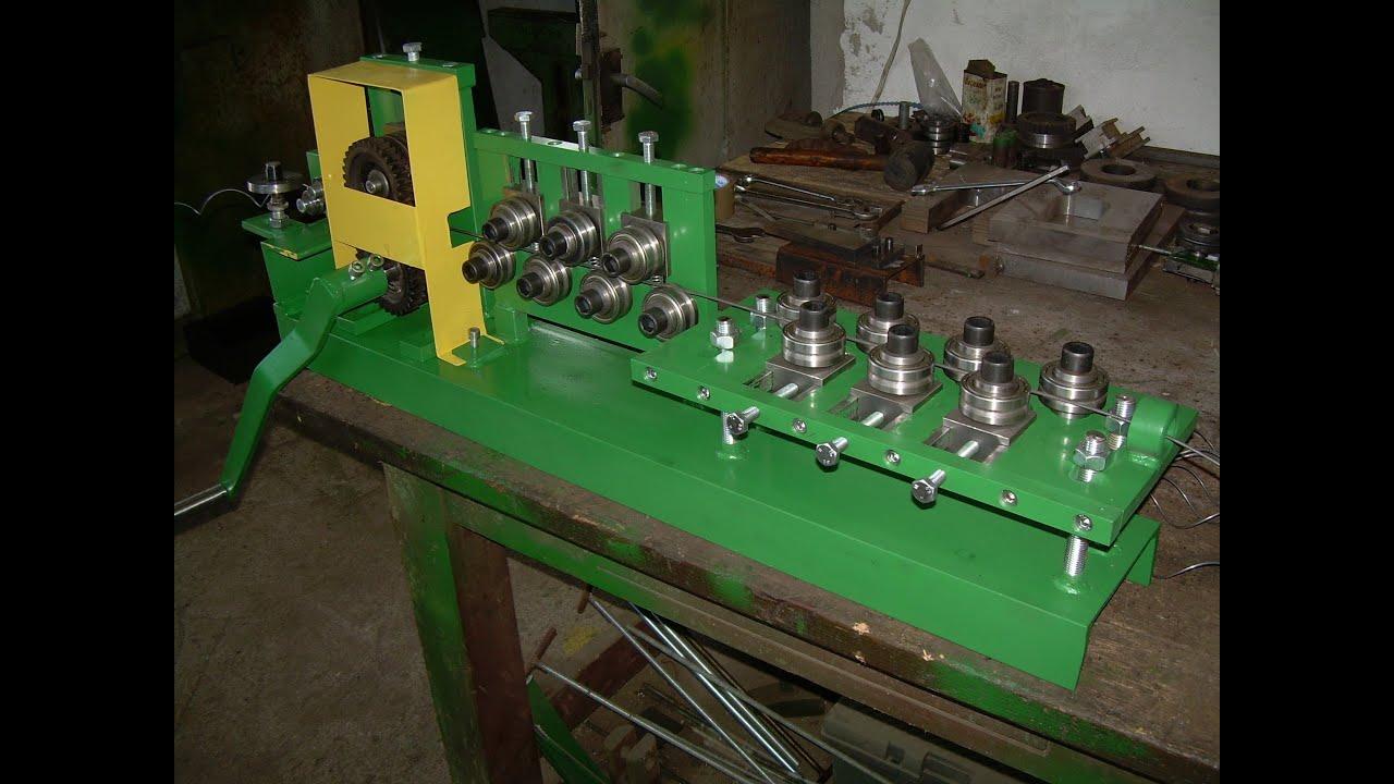 Manual Spiral Machine Wire Straightener Gabions Spring