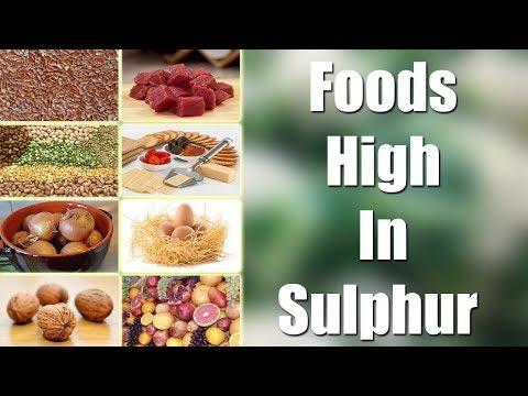 Foods High In Sulphur || Arogyasutralu || Health Tips in