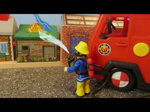 Fireman Sam Toys Episode 1 Fire at the railway station Fireman Sam Toy 2018
