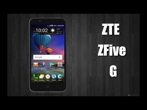Unboxing and Quick Specs Review of the ZTE ZFive G LTE
