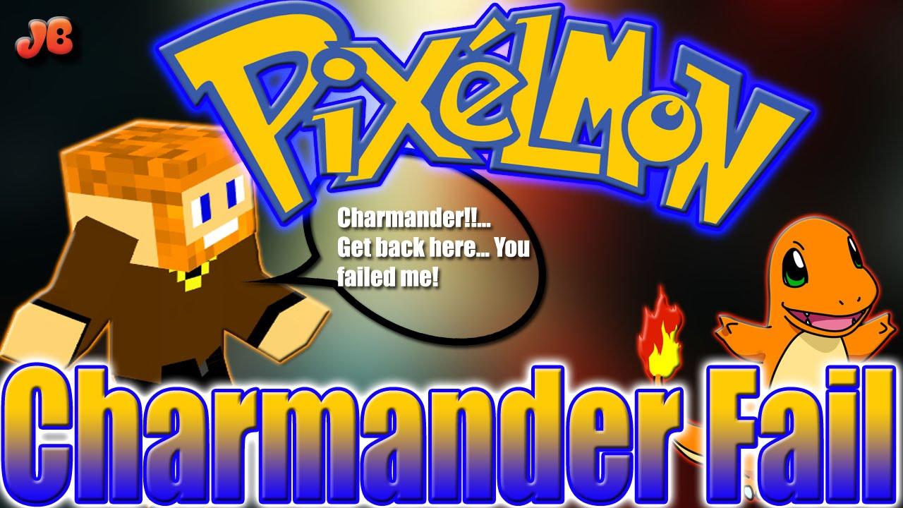 Minecraft pixelmon the charmander fail season 2 ep 1 - Pixelmon ep 1 charmander ...