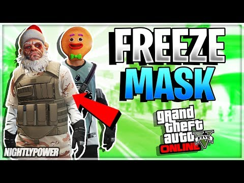 Gta 5 Online Christmas Masks.Pc All Xbox One Ps4 Gta Online Freeze Mask Glitch