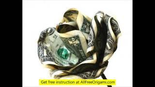 Dollar Origami Giraffe