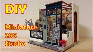 DIY/Miniature Dollhouse KIT/Nancy's Bakeshop/ミニチュアドールハウスキット/ナンシーズ ベイクショップ/つくるんです