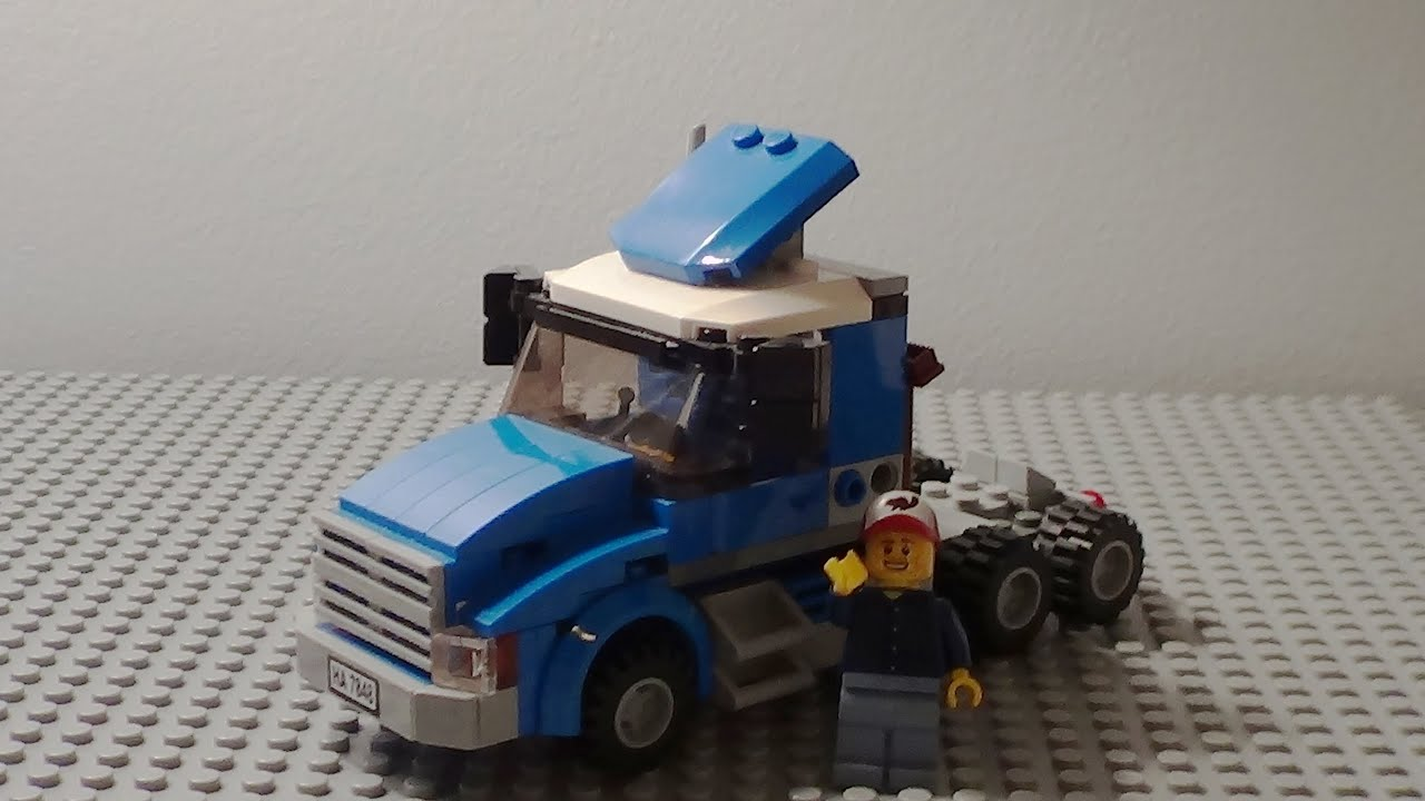 LEGO semi truck (MOC)