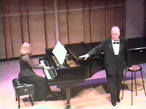 Honoring Louis Quilico: Triste et le Steppe (Gretchaninoff) with Christina Petrowska Quilico, piano