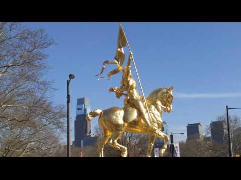 Philadelphia, PA Pennsylvania City Tour Street Scenes