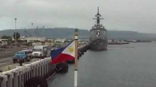 Philippine Navy Ship In Pearl Harbor