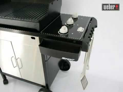 asador a gas weber spirit e310 youtube. Black Bedroom Furniture Sets. Home Design Ideas