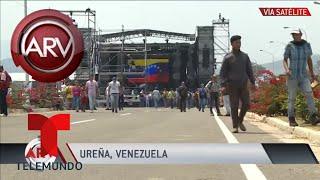Dos muertos en enfrentamiento con fuerzas armadas de Maduro | Al Rojo Vivo | Telemundo