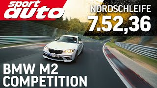 BMW M2 Competition - 7.52,36 min Nordschleife HOT LAP sport auto Supertest