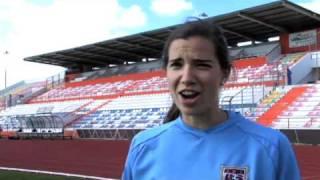 Trick Shot Battle - Tobin Heath vs. Yael Averbuch Video