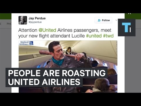 Thumbnail: People are roasting United Airlines after a passenger was dragged off a plane