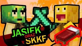 JDabrowsky i SKKF MASAKRUJĄ w Minecraft: BED WARS