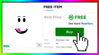 ROBLOX ALL AVAILABLE FREE ITEMS! (2019)