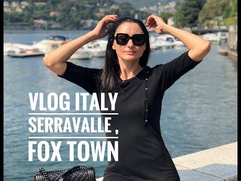 Шоппинг в аутлетах Италии .Цены в Серравалле , Fox Town - Видео онлайн