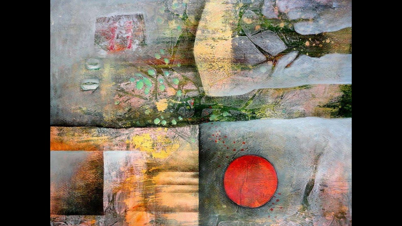O T Von Gerda Lipski Landschaft See Meer Diverse Gefuhle Malerei