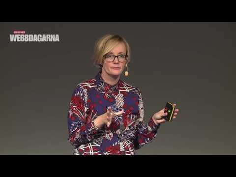 Kristin Heinonen, Webbdagarna Göteborg 2016
