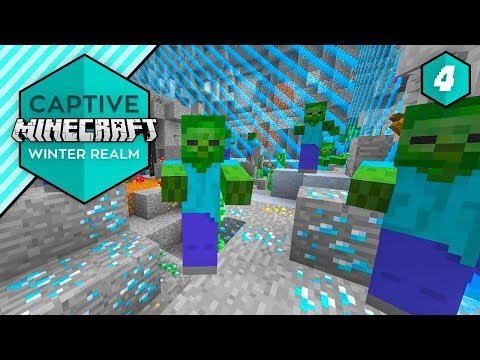 THE MOST DEADLY DIAMOND MINE - Captive Minecraft IV #4