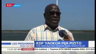 Jeshi la KDF katika msitu wa Boni kaunti Lamu wamuokoa mama mja mzito