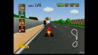 Mario Kart 64 Video Gameplay - Mario Kart (Feb. 1997)
