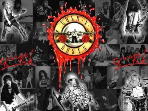 Guns 'n' Roses - Sweet Child O Mine Backing Track (Solo ONLY)