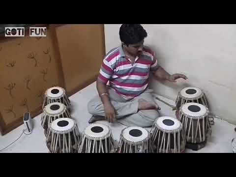 Indian national anthem / TABLA theme Rastra Gaan (Jan gan man )/GOTI FUN