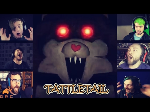 Gamers Reactions to MAMA's attack | Tattletail
