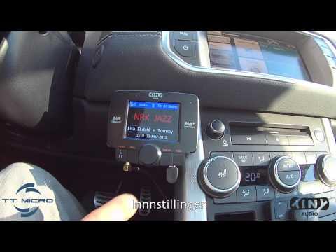 DAB adapter installasjon Tiny Audio C3