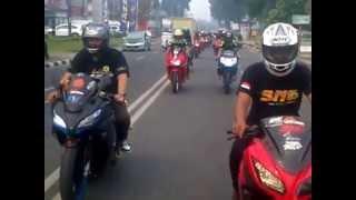 "Download Video Kawasaki Ninja Bengkulu ( KANIBE ) roling  ""aniv NJC Jambi"" MP3 3GP MP4"
