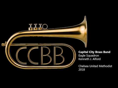 Eagle Squadron March - Kenneth Alford - Capital City Brass Band