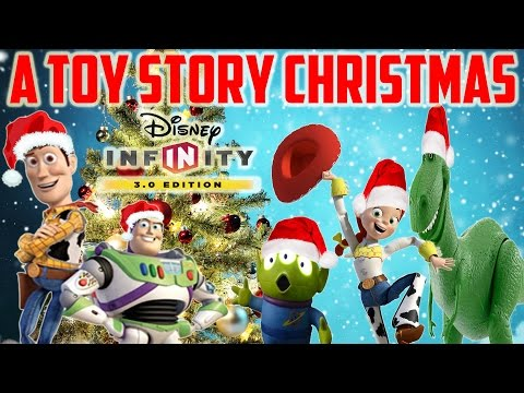 A Toy Story Christmas Disney Infinity 3.0 Toy Box #HolidayChallenge