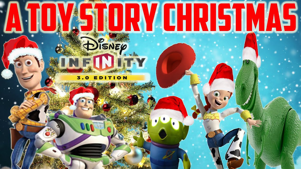 Toy Story Christmas : A toy story christmas disney infinity box