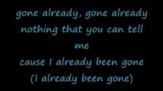 Faith Evans - Gone Already (Lyrics)