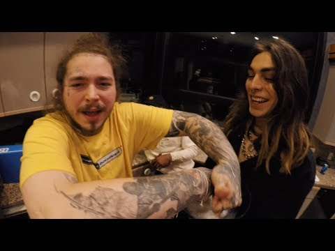 Paris Tour Vlog with Post Malone, 21 Savage, Tyler Grosso & more