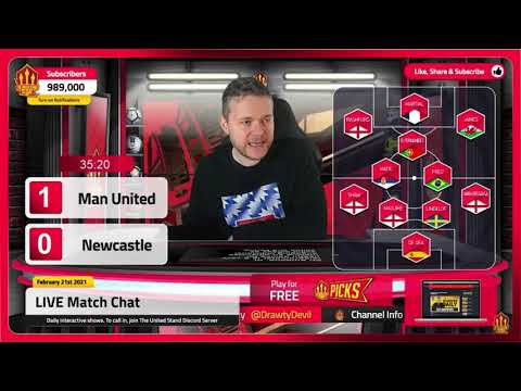 GOLDBRIDGE Best Bits | Man United 3-1 Newcastle