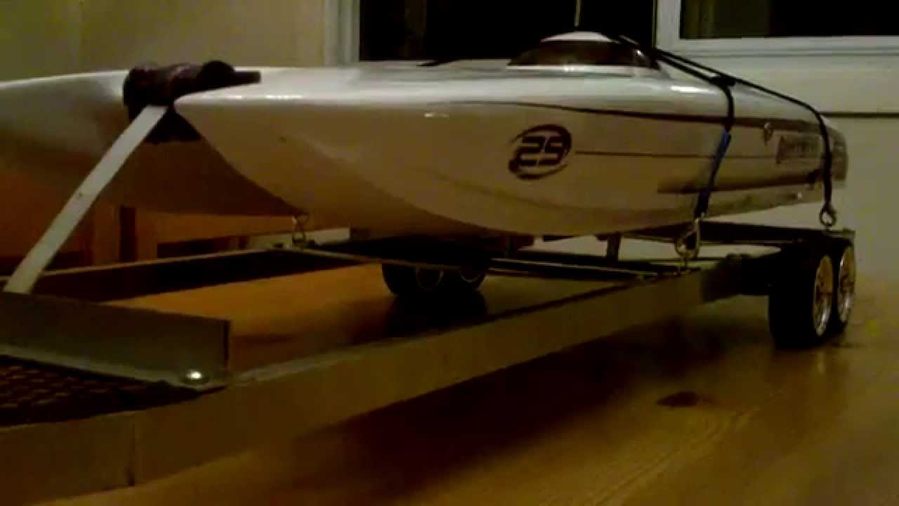 RC Boat Trailer Build Walk-around - YouTube